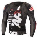 SEQUENCE PROTECTION JACKET LONG SLEEVE - BLACK WHITE RED 2022