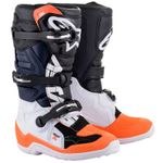 TECH 7S BLACK WHITE ORANGE FLUO ENFANT