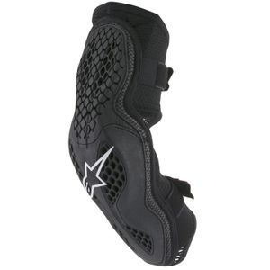 Coudières Alpinestars SEQUENCE PROTECTOR - BLACK RED 2022