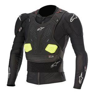Gilet de protection Alpinestars BIONIC PRO V2 - BLACK YELLOW FLUO 2021