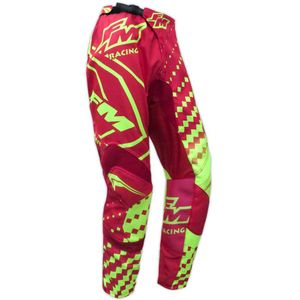 Pantalon cross FM Racing HERO 2 X25 RED / YELLOW ENFANT