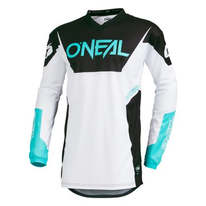 Maillot cross O'Neal ELEMENT - RACEWEAR - WHITE 2019