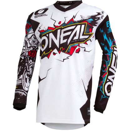 Maillot cross O'Neal ELEMENT - VILLAIN - WHITE 2021