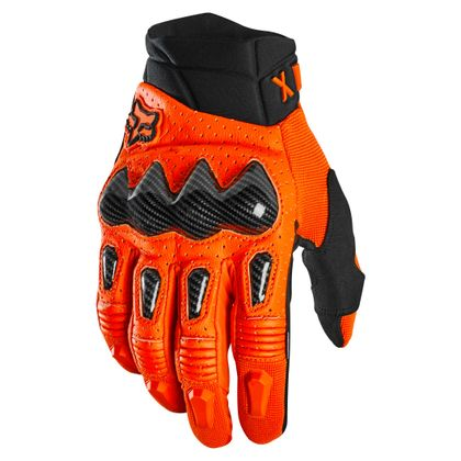 Gants cross Fox BOMBER - ORANGE FLUO 2021