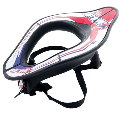Tour de cou FM Racing NECK TRONIC BLUE WHITE RED 2018