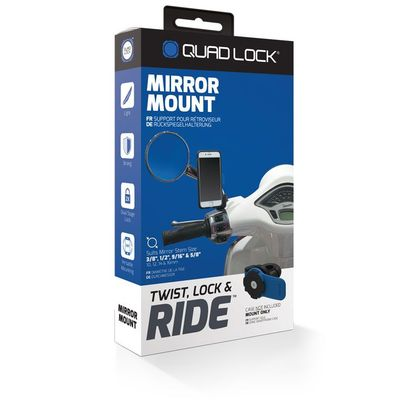 Support Quad Lock SMARTPHONE POUR SCOOTER
