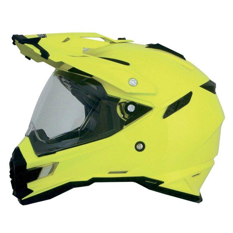 AFX FX-41DS Dual Sport Eiger Full Face Helmet Gray/Orange
